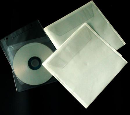 cd dvd Hüllen aus PVC