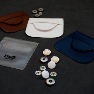 Kunststoffsäckchen für Kleiderknöpfe